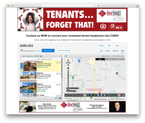 Zack 990 WordPress page template - homesmartrentalrelief.com