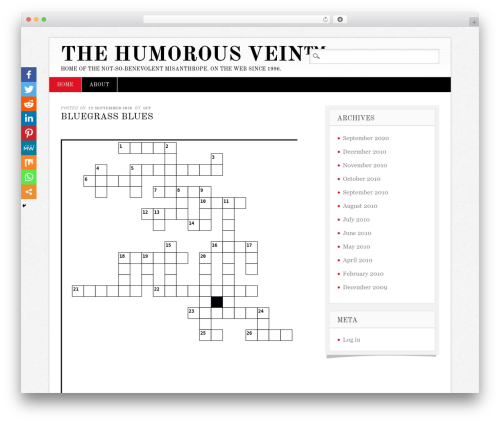 Diginews best WordPress magazine theme - humorousvein.com