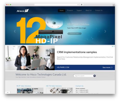 Envision Child best WordPress video theme - hiscocanada.com