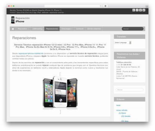 iFeature WordPress theme free download - reparacion-iphone-madrid.info