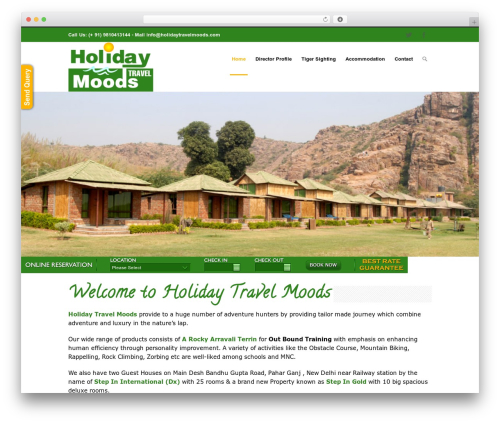 INOVADO WordPress travel theme - holidaytravelmoods.com