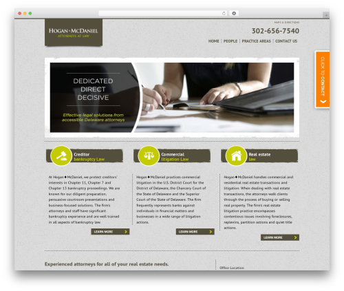 Project X v2 real estate WordPress theme - hoganmcdaniel.com
