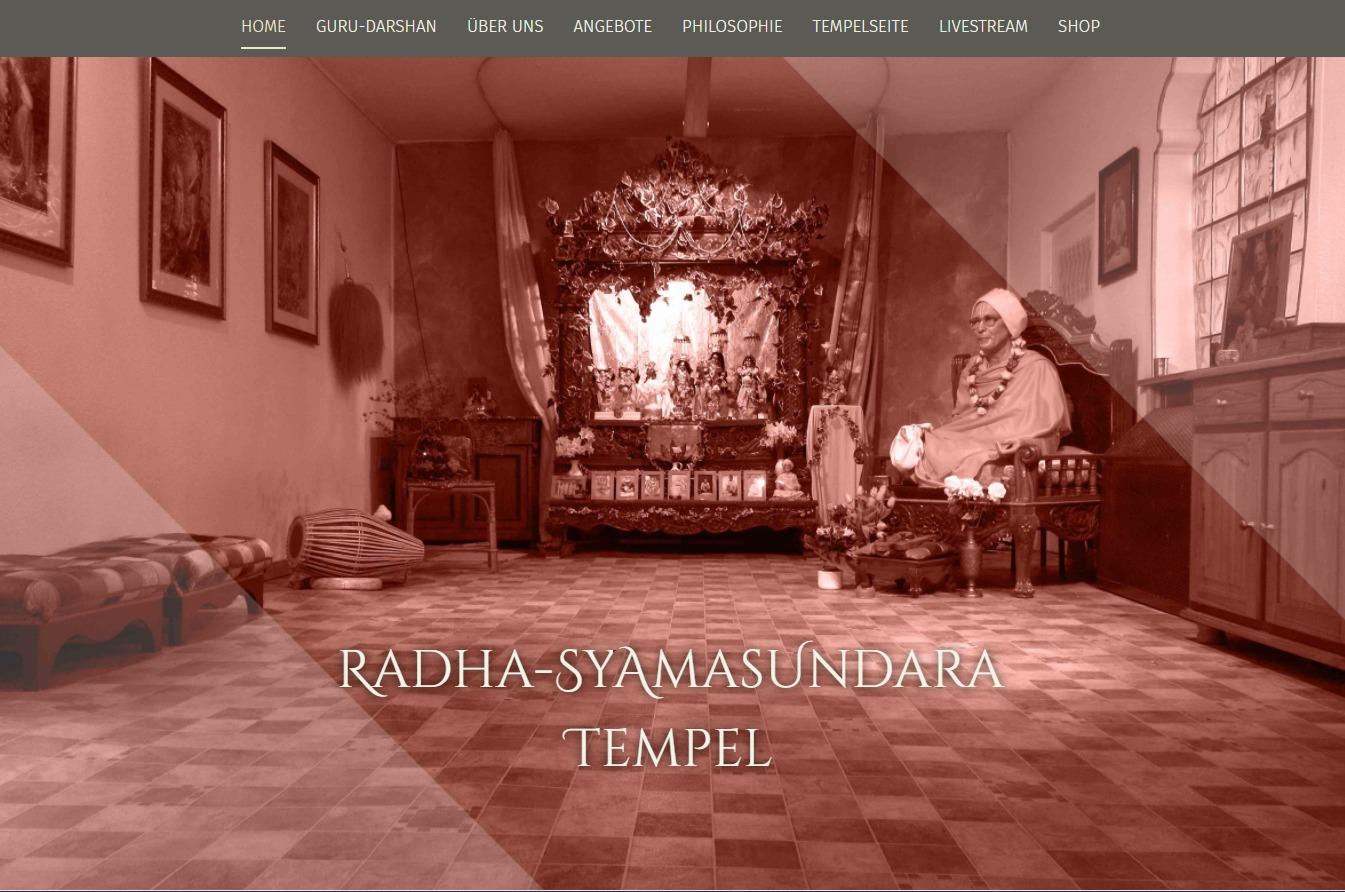 Radha-Syamasundara Tempel 02 WordPress theme