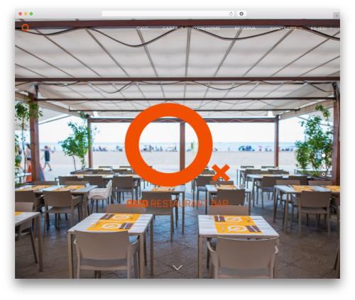 Rosa theme WordPress - restaurantoxid.com
