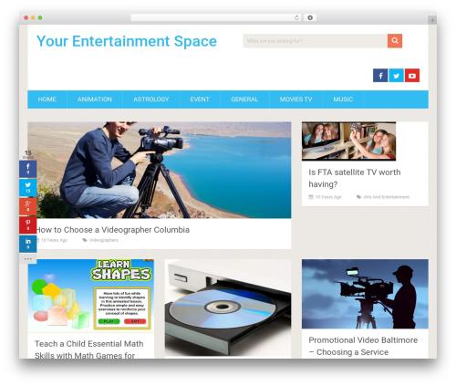 SociallyViral by MyThemeShop WordPress shop theme - yourentertainmentspace.com