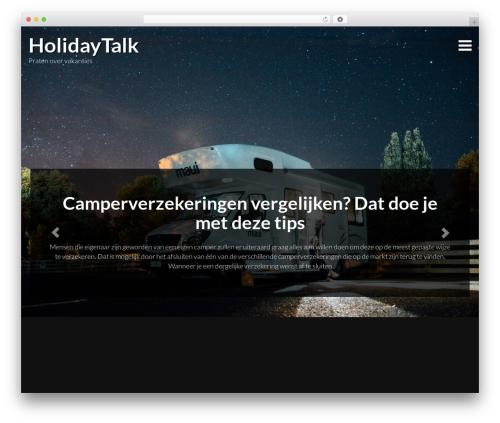 Travellator template WordPress free - holidaytalk.nl