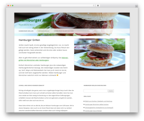 Twenty Twelve free website theme - hamburger-grillen.com