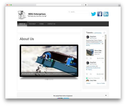 yoo_avenue premium WordPress theme - hdg-enterprises.com