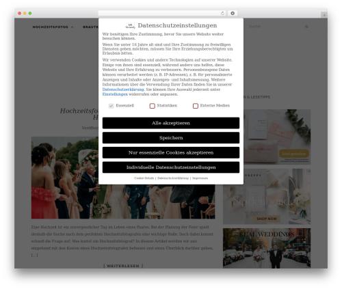 Activello theme WordPress - brautsalat.de