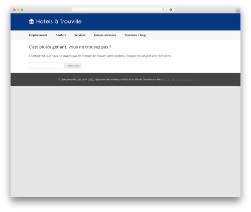 airbnblike WordPress theme - hotelatrouville.com