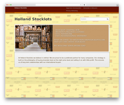 Emporium theme WordPress - hollandstocklot.com