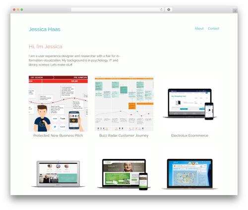 Maker template WordPress - haasome.com