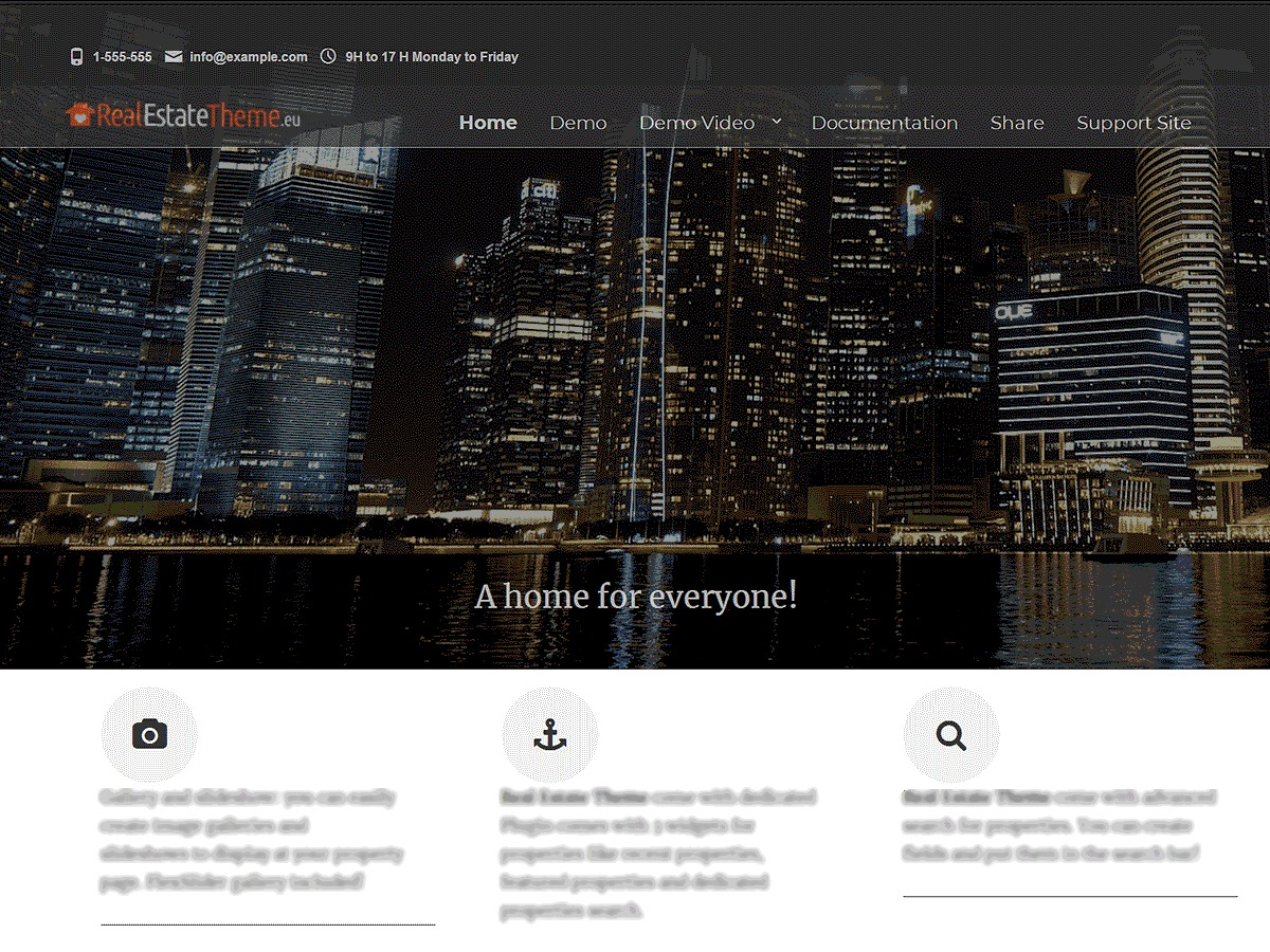 Real Estate Right Now WordPress real estate