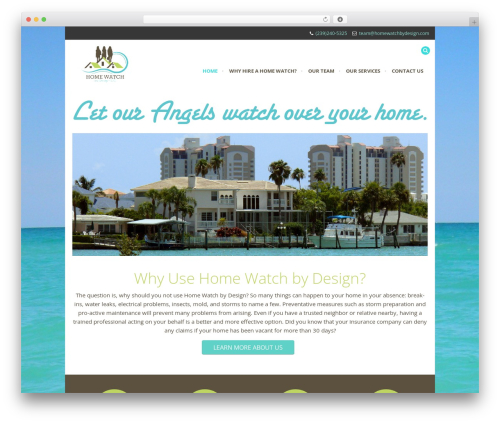 Rocco WordPress theme - homewatchbydesign.com