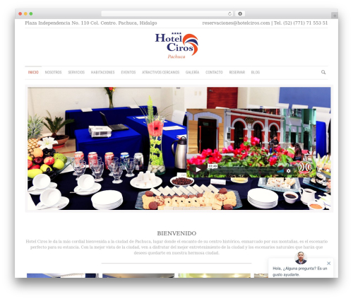 Royal template WordPress - hotelciros.com