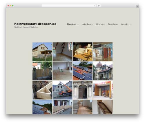 Twenty Sixteen WordPress template free download - holzwerkstatt-dresden.de