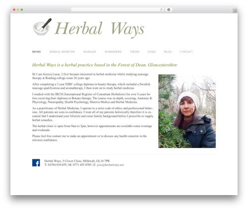 WordPress template Twenty Twelve - herbalways.net