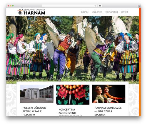 Passage theme WordPress - harnam.pl