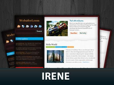 Theme WordPress Irene