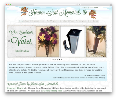 Free WordPress Strong Testimonials plugin - heavensentmemorials.com