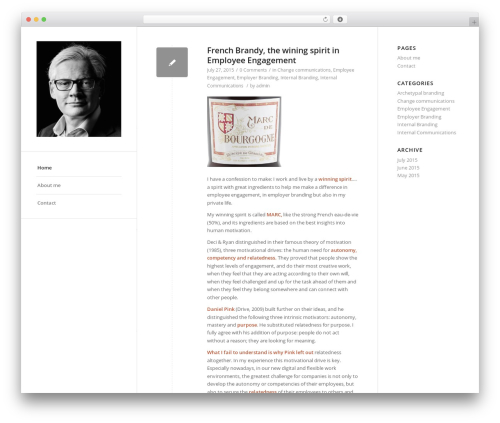 WordPress theme Enfold - hankpoot.com