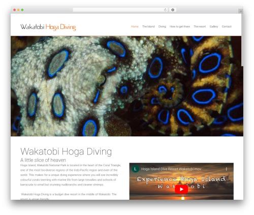 WordPress theme Satellite7 - hogaislanddiveresort.com