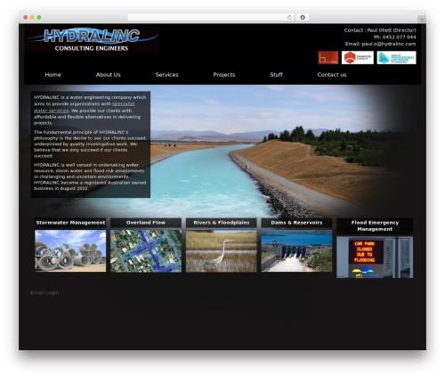 Best WordPress template Black Label - hydralinc.com