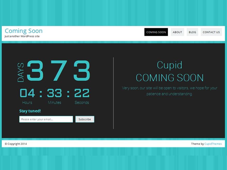 Countdown child top WordPress theme