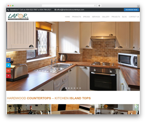 Focuson WP template - hardwoodcountertops.com