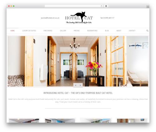 Klasik premium WordPress theme - hotelcat.co.uk