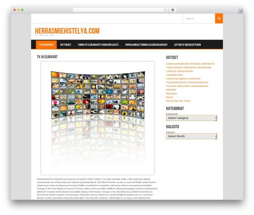 Koenda WordPress website template - herrasmiehistelya.com