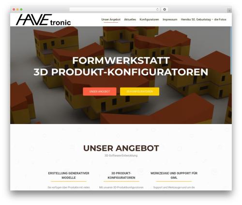 OnePirate WordPress theme - havetronic.at