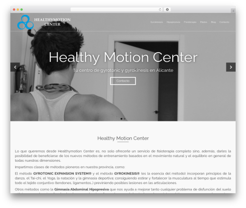 Template WordPress Pinnacle Premium - healthymotioncenter.es