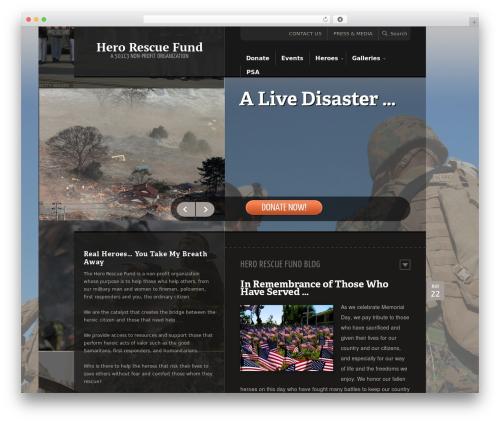 Template WordPress Saving Grace - herorescuefund.org