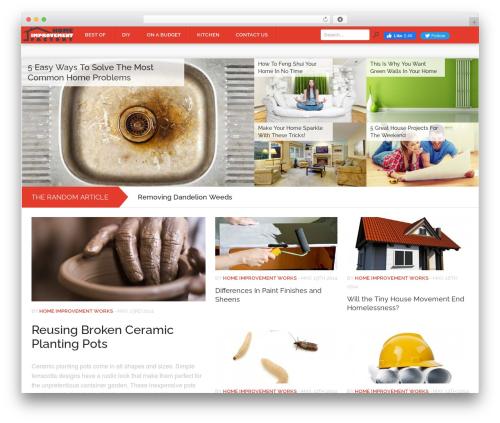 Theme WordPress Codilight - homeimprovementfactory.com