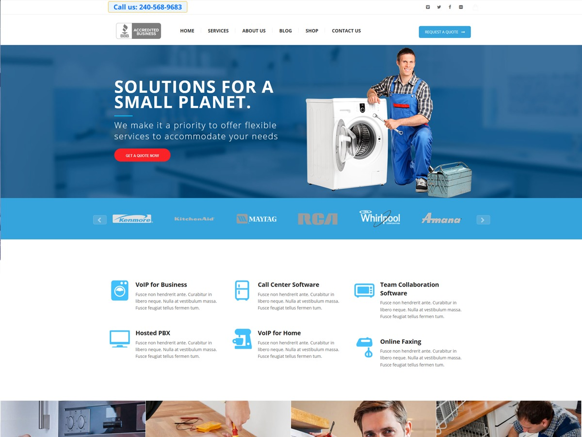 appliancerepair best WordPress theme