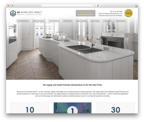 Avada WordPress theme - ukworktopsdirect.co.uk
