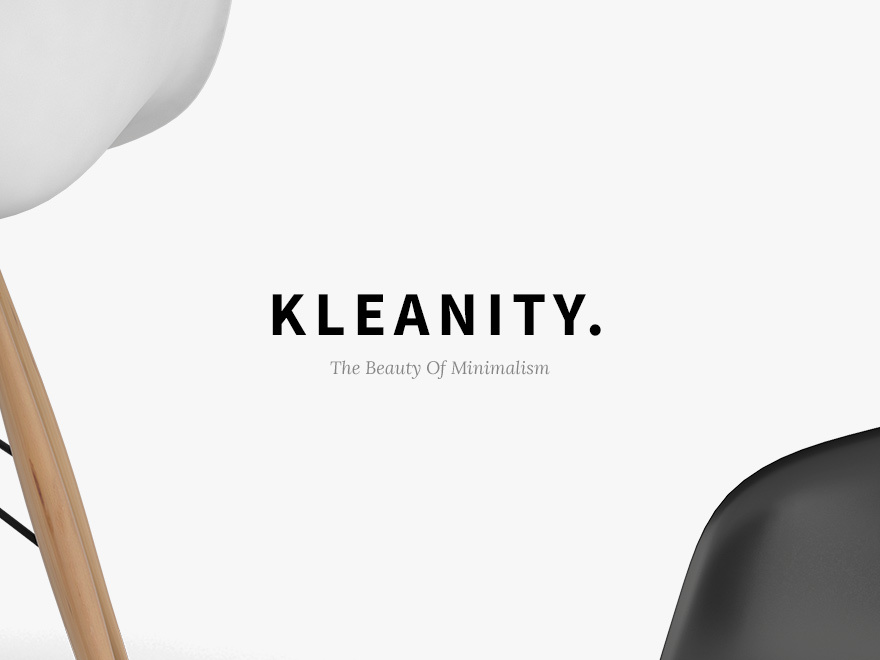 Best WordPress theme Kleanity Child