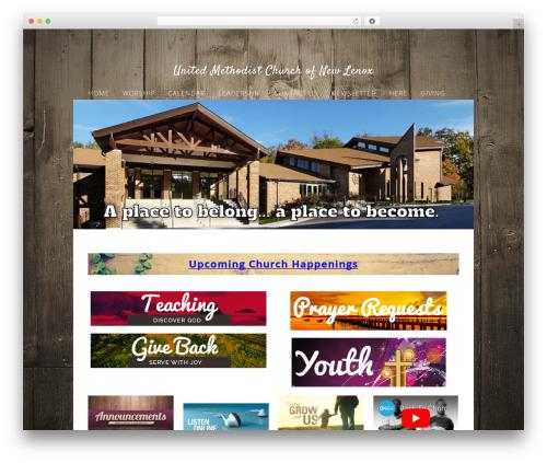 Best WordPress theme Sharefaith Church Website Template - umcnl.com