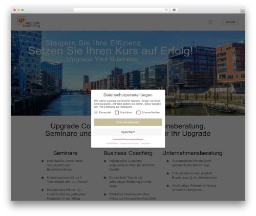 Betheme company WordPress theme - upgrade-consulting.de