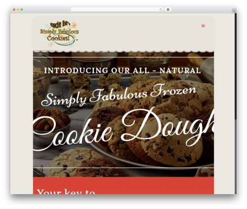 Free WordPress MailChimp for WordPress plugin - uncleedscookies.com