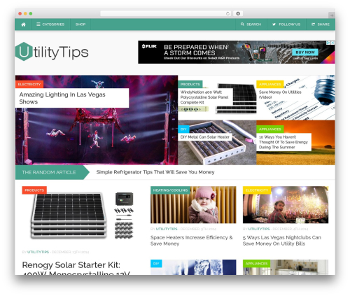 Codilight WordPress theme - utilitytips.com