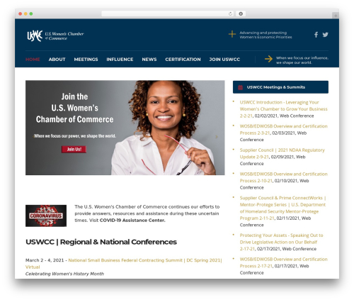 Consulting best free WordPress theme - uswcc.org
