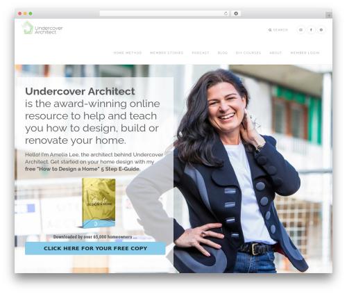 Epik Theme WordPress theme - undercoverarchitect.com