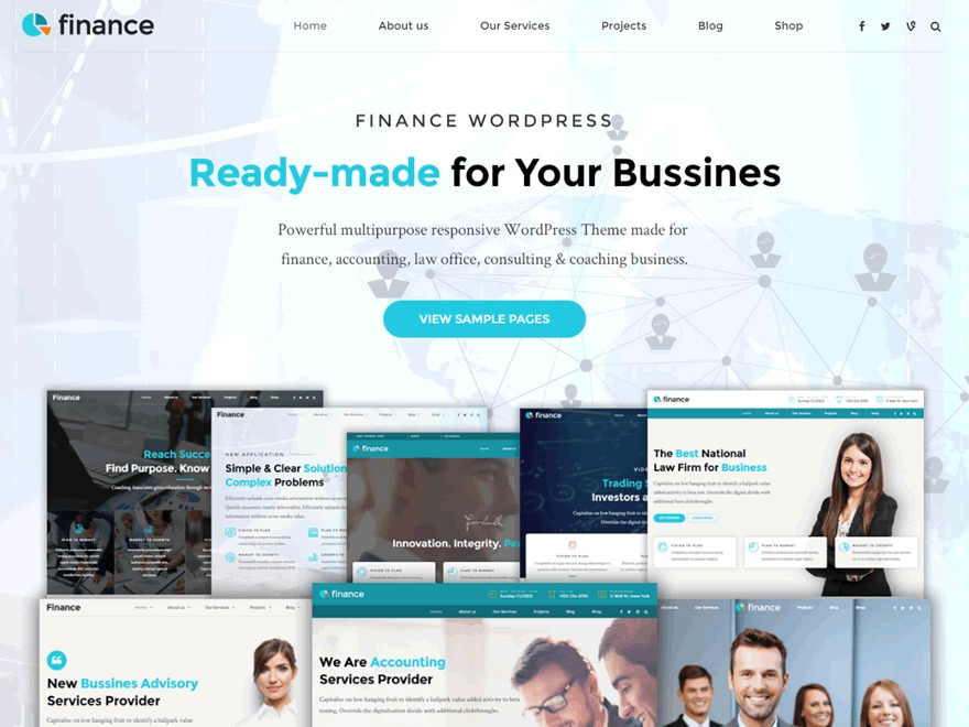Finance Child best WordPress theme