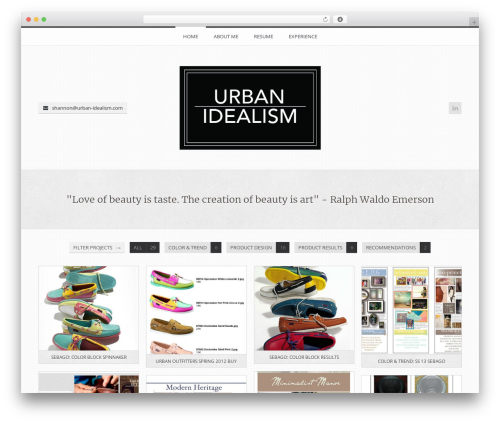 FireFly WordPress theme - urban-idealism.com