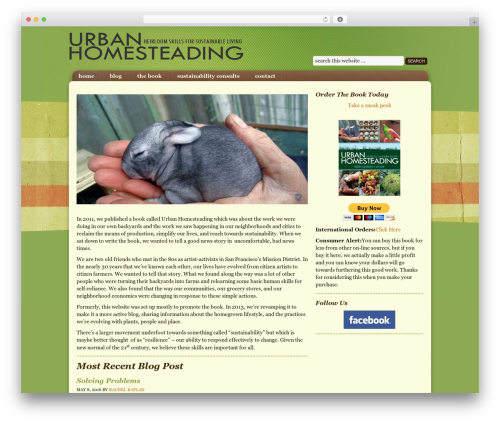 WordPress collision-testimonials plugin - urban-homesteading.org