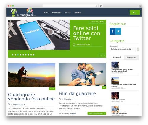 HarmonUX Core best free WordPress theme - unconsiglio.com