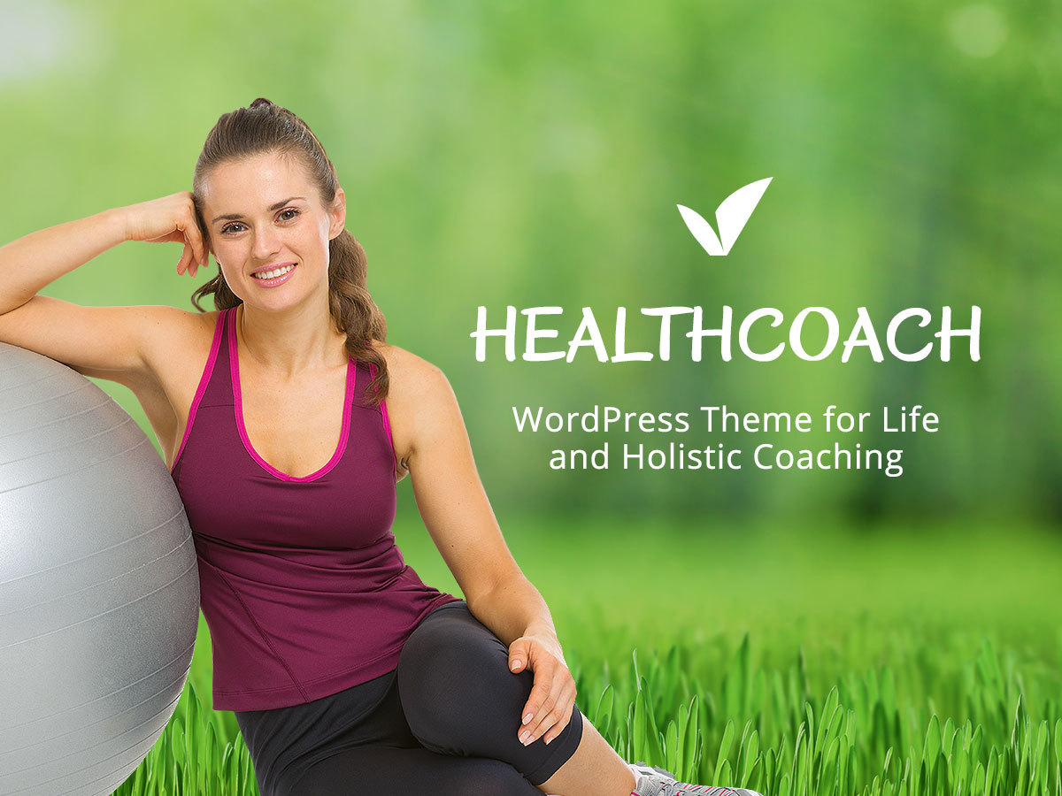 HealthCoach fitness WordPress theme