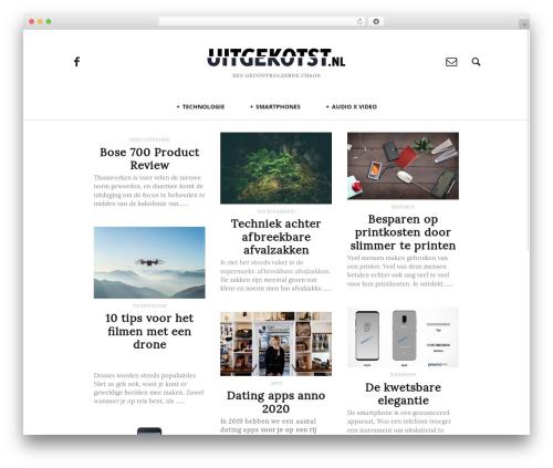Heap WordPress page template - uitgekotst.nl